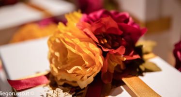 Wedding: tema arancio e rosso