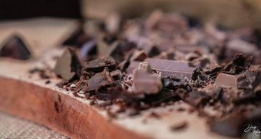 Angolo cubano: cioccolato a pezzetti