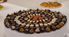 Cioccolatini per sweet table