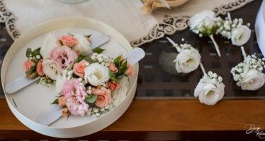 Damigelle: bracciali floreali