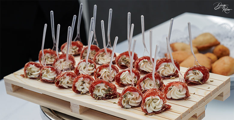 Wedding buffet: gustosi assaggi