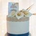 Elegante cake topper da comunione