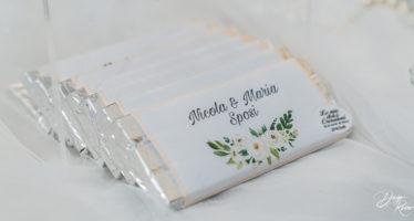 Wedding: cioccolata personalizzata