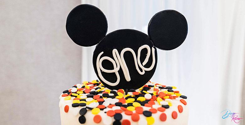 Tenero cake topper: Topolino