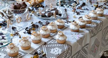 Casa sposi: il tavolo del buffet