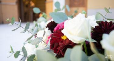 Fiori colorati per matrimonio