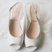 Scarpe sposa: modello spuntato