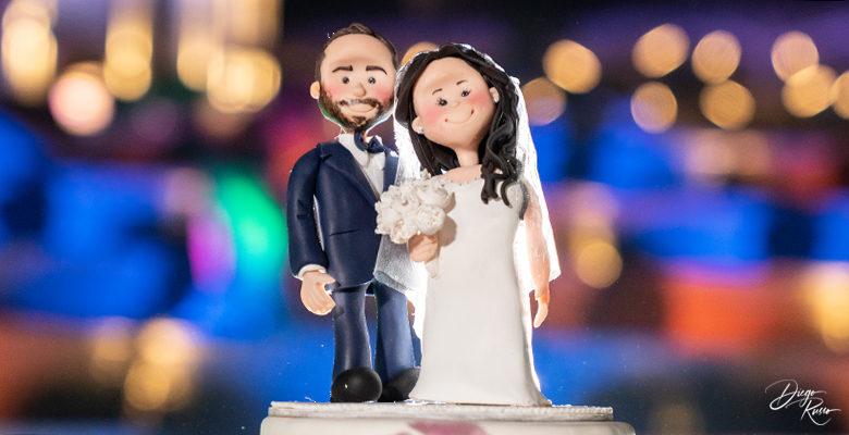 Sposi formato cake topper