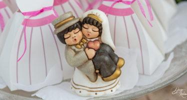 Cake topper: sposini Thun