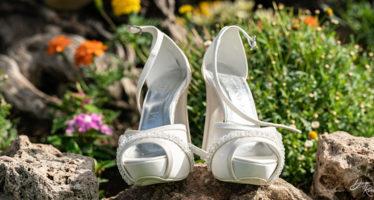 Eleganti sandali da sposa