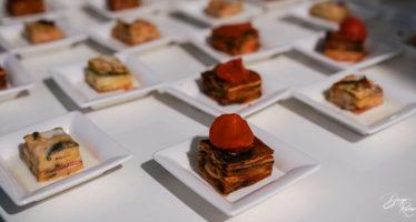 Assaggi da buffet nuziale