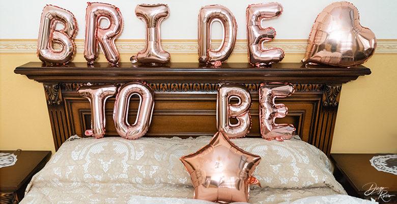 Palloncini per la sposa