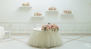 Villa Althea: tavolo d'onore