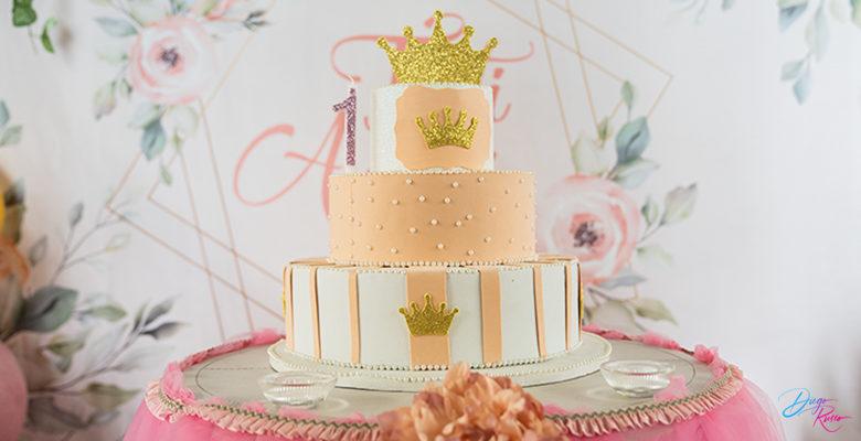 Primo compleanno: una torta importante