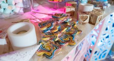 Candy table per baby invitati
