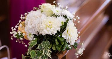 I fiori in chiesa