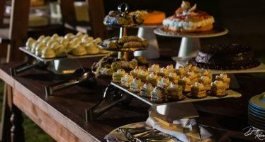 Buffet di dolci al matrimonio