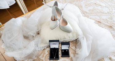 scarpe sposa in pizzo