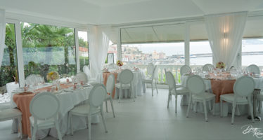 Villa Posillipo: la sala principale