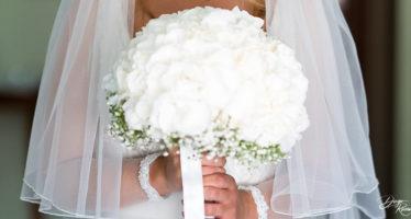 Il bouchet da sposa total white