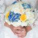 Bouchet sposa: Gardenie e rose