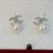 Orecchini sposa: perle con logo Chanel