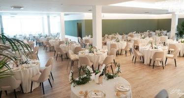 La sala cerimoniale di Villa Balke