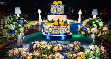 Tema maioliche siciliane al matrimonio