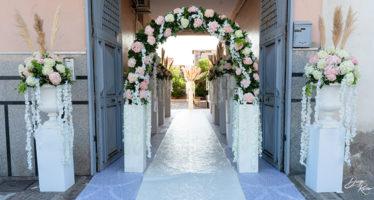 Allestimenti floreali casa sposa