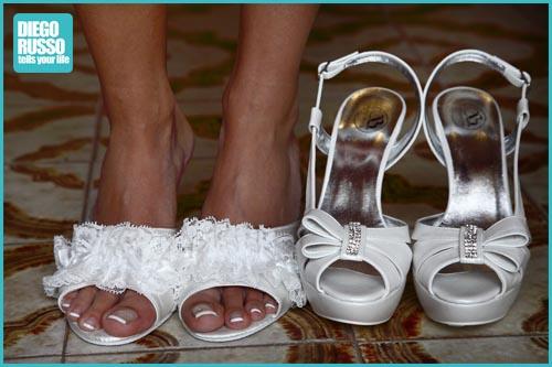 pantofole per sposa