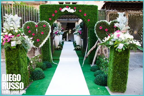 Diego russo blog le migliori fotografie di matrimoni particolari foto di nozze vip wedding - Addobbi matrimonio casa della sposa ...